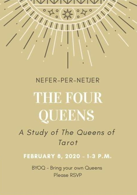 The Four Queens of the Tarot