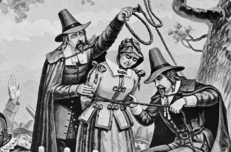 Salem Witch Deaths